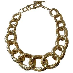 🇨🇦 Vintage KJL link chain necklace